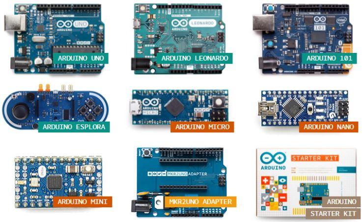 Arduino Board Çeşitleri