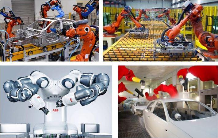 Endüstriyel Robot Uygulamaları