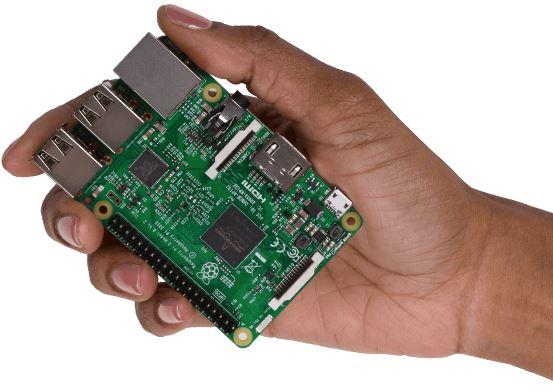 Raspberry Pi Görünümü