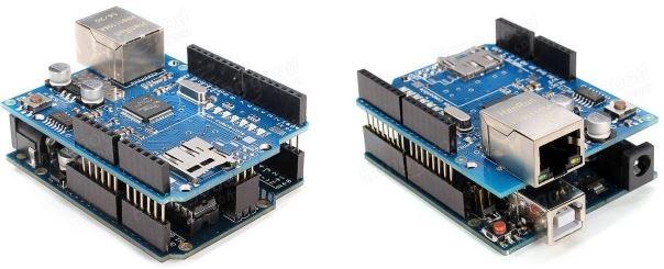 Arduino Ethernet Shield Montajlı