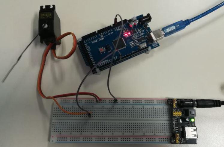 Arduino Servo Motor Uygulaması