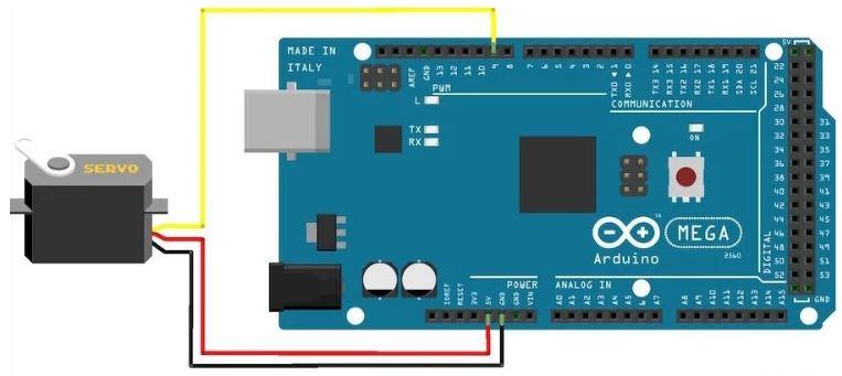 Arduino Servo Motor Bağlantısı