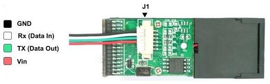 Parmak izi Okuyucu Sensor Connector