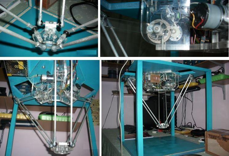 Paralel Robot Genel Görüntüler