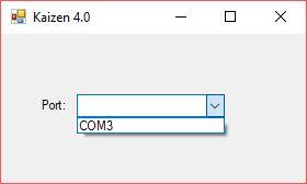 C# ile Serial Port İsimlerini Combobox' a Yazdırmak