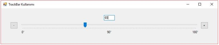 C# trackbar Kullanımı