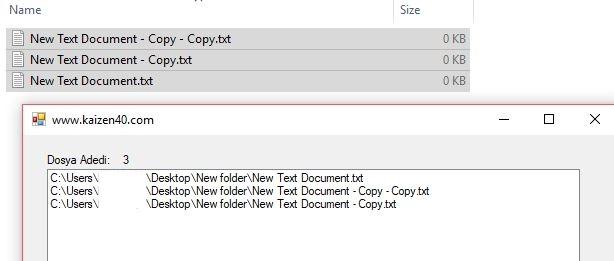 C# Listbox Dosya Adresi Yazma Sürükle Bırak Yöntemi