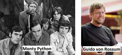 Monty Python ve Guido von Rossum