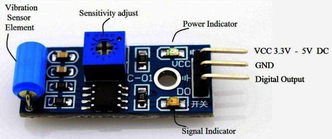 SW-420 Titreşim Sensoru