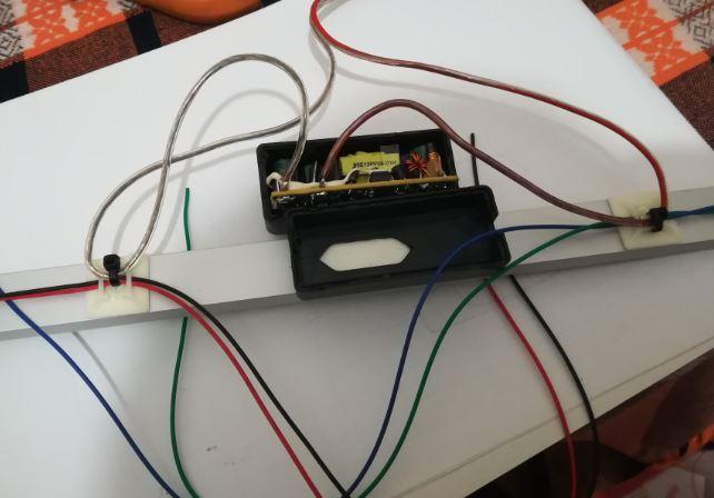 Şerit LED Adaptör Bağlantısı