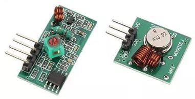 RF 433 MHz Alıcı Verici Modul