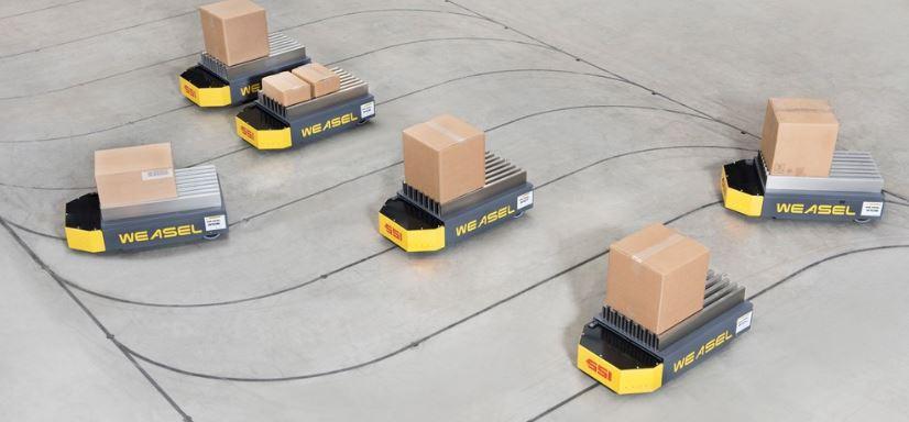 AGV Kutu Taşıma