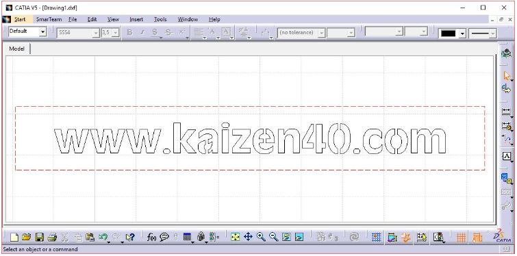 Catia DXF Text File Açma