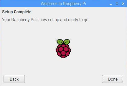 Raspberry Kurulum Sonu