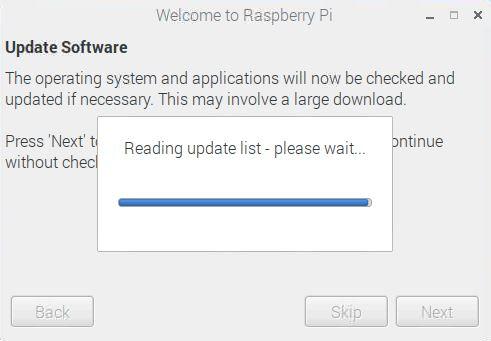 Raspberry Pi Update
