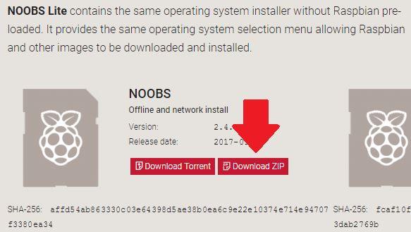 Raspbian Download Zip