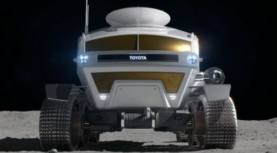 Toyota Self Driving Electric Moon Car