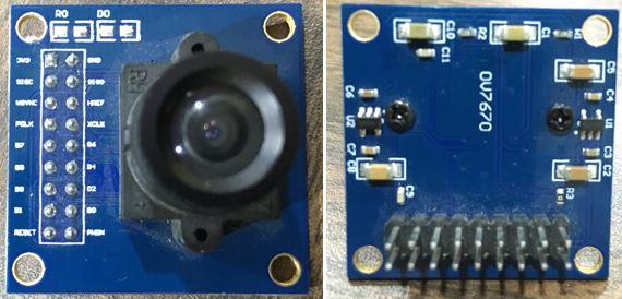 OV7670 Kamera Modulü