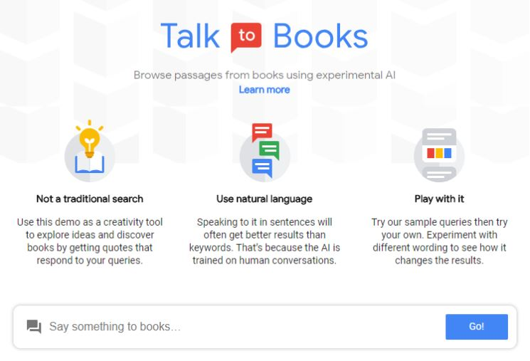 Google Talk Books