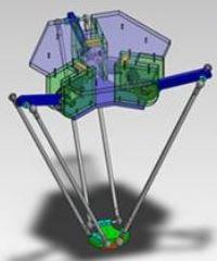Paralel Robot DC Redüktörlü Motor Tahrikli Tasarımı – 8