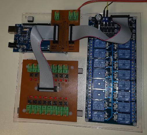 16 kanal input 16 kanal outpu Arduino MEGA