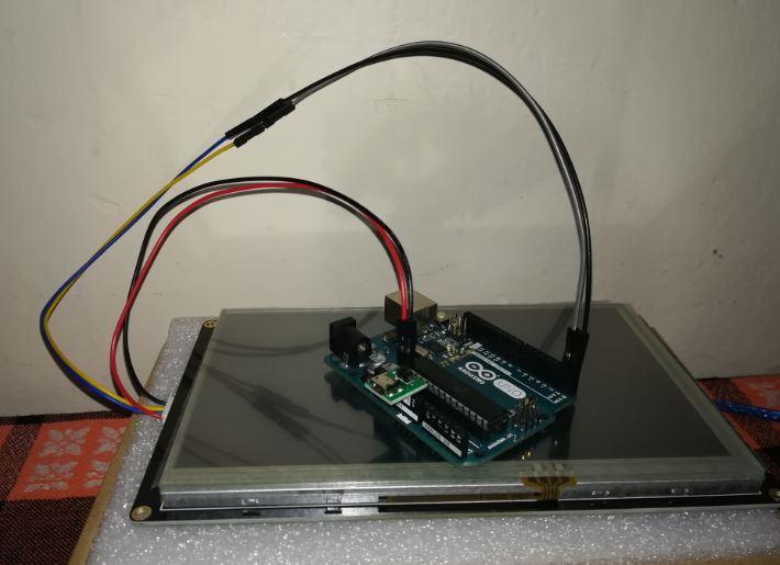 Nextion Arduino Bağlantısı