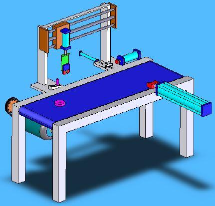 Otomatik Pim Segman Çakma 3D